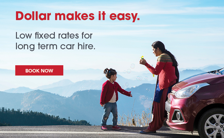Low fixed rates on long term car hire